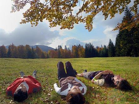 Bio-Wellness mit Bergblick im Biohotel