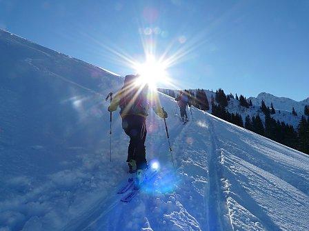 Skitouren-Woche in Balderschwang | Genüssliche Skitouren im Allgäu