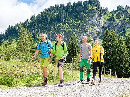 Wandertouren im Allgäu: Wanderungen rund um Balderschwang