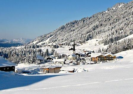 Winterurlaub in Baderschwang mit der ganzen Familie