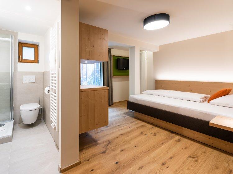 Aktivzimmer im Allgäu mit Dusche / WC