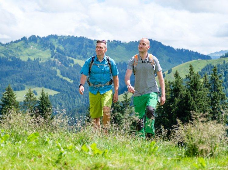 Bergtouren in Balderschwang im Allgäu