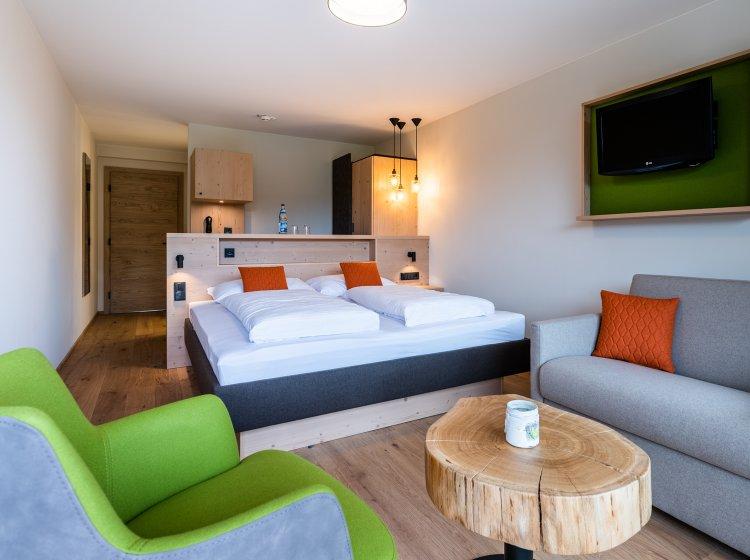 Innenansicht 2: Hotelzimmer Biohotel Balderschwang Besler