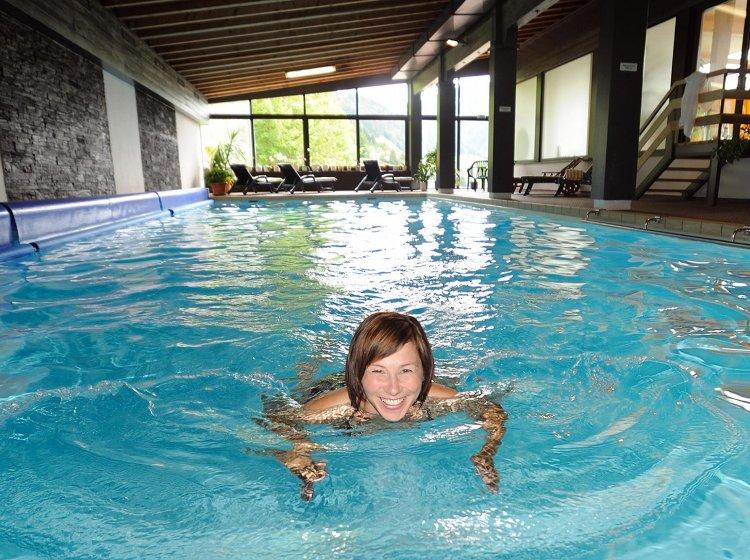 Bio-Hotel mit Schwimmbad in Balderschwang