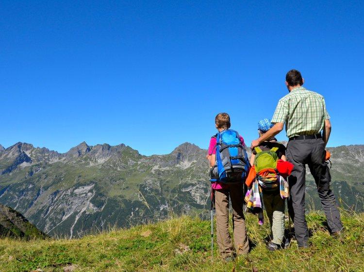 Familien Sommerurlaub im Allgäu