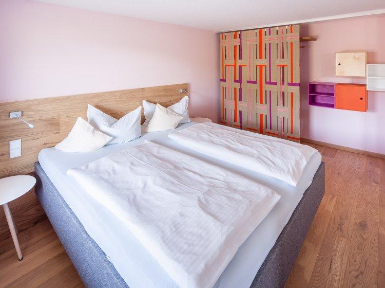 Hotelzimmer Biohotel Hoher Ifen – Innenansicht 1
