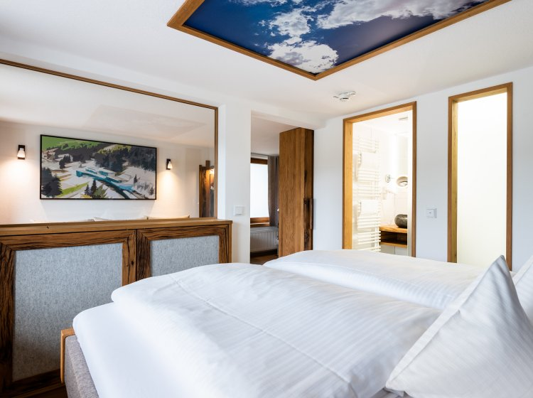 Hotelzimmer Biohotel Hoher Ifen – Innenansicht 2