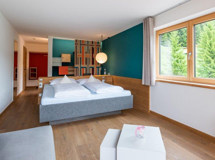 Hotelzimmer Biohotel Hoher Ifen – Innenansicht 3