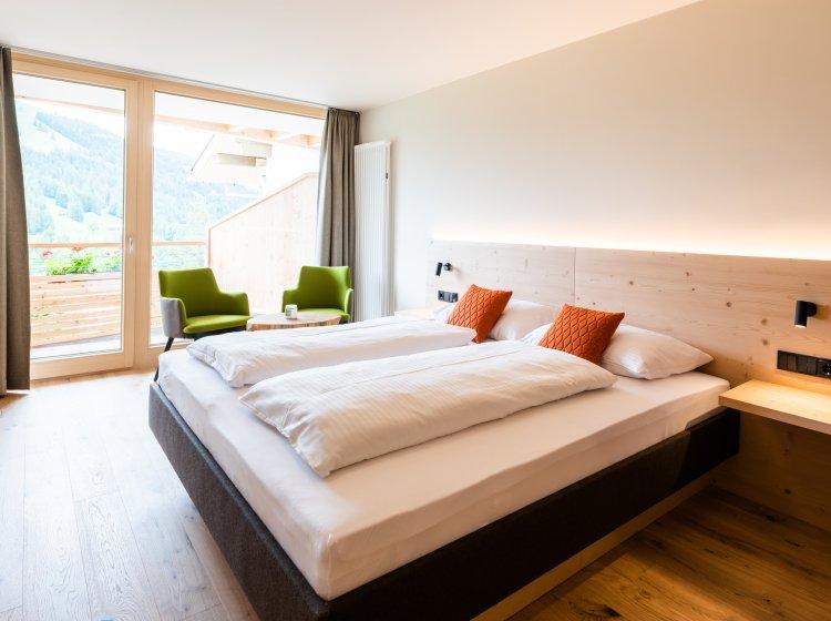 Zimmer Riedbergerhorn Innenansicht – Übernachten im Biohotel Balderschwang
