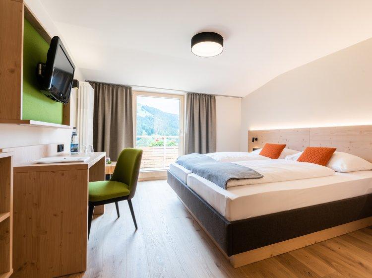 Standard Zimmer Riedbergerhorn - Allgäuer Biohotel - Innen 1