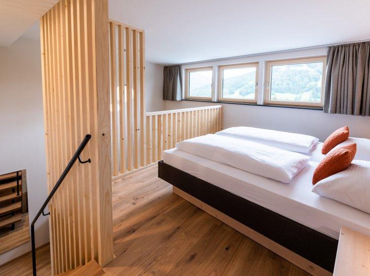 Schlafzimmer - Suite im Allgäuer Biohotel