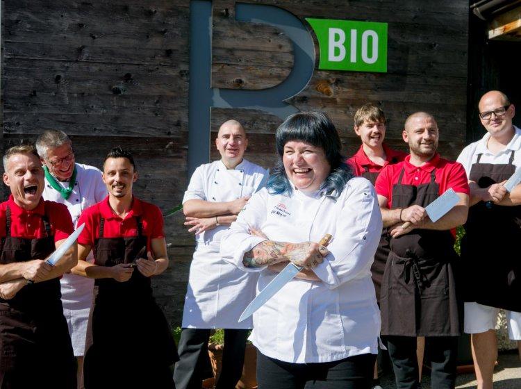 Küchenteam Bio-Restaurant Allgäu