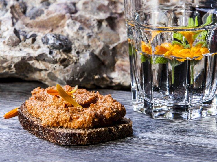 Vegan und vegetarisch im Restaurant des Allgäuer Biohotels