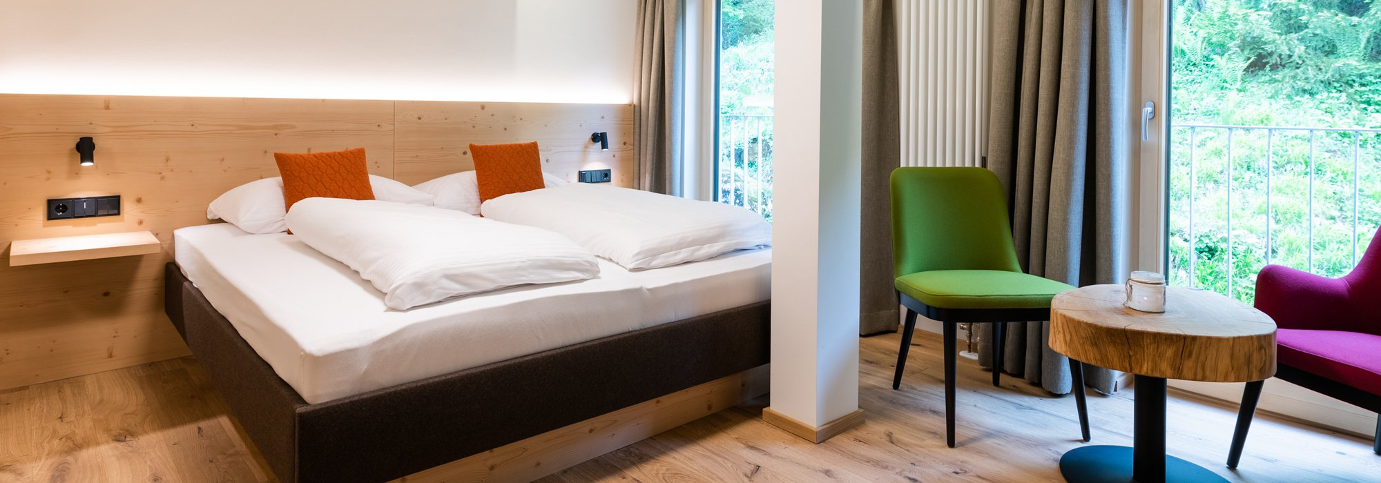 The hotel room for hikers & nature lovers