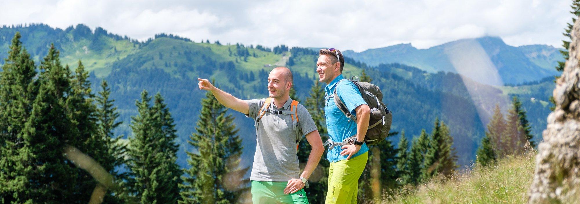 Bergtouren rund um Balderschwang