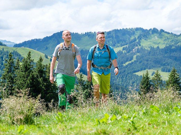 Bergtouren Übersicht