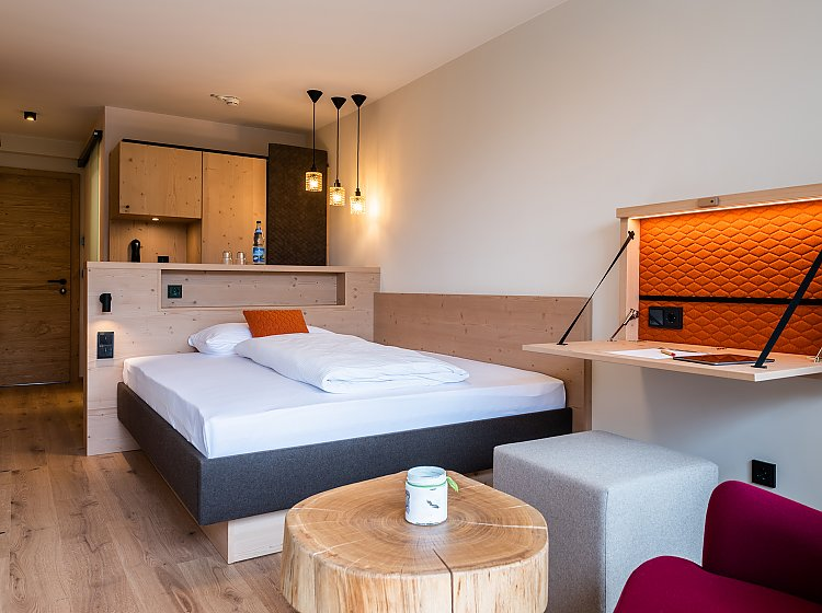 Hotelzimmer: Feuerstätter