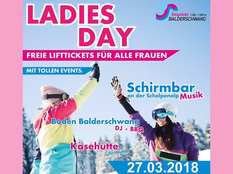 LADIES DAY in Balderschwang